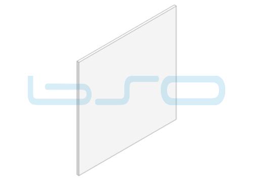 Polycarbonat Farbe klar Dicke=3mm Zuschnitt